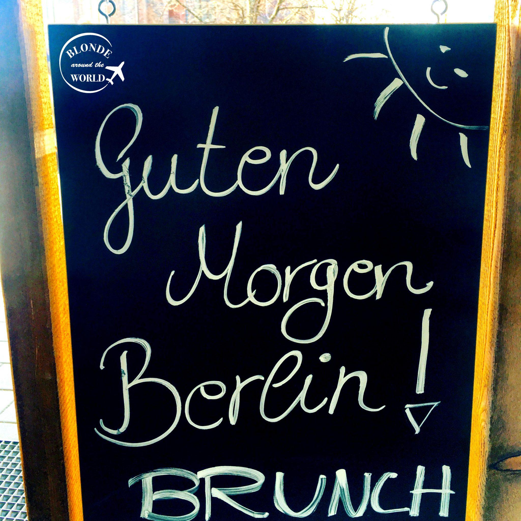 Brlin Guten Morgen Blonde Around The World